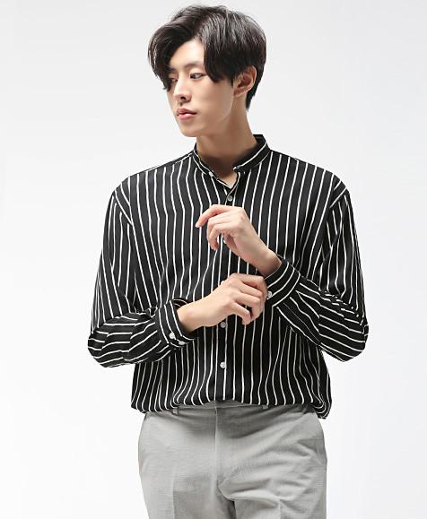 BN中国长袖衬衫